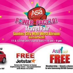 [ASA Holidays] The biannual Power Packed Fair is here again! If you are looking for your holiday, visit us at Suntec City