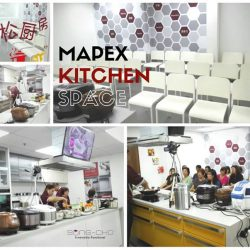 [Song-Cho] MAPEX KITCHEN SPACE AVAILABLE 🍲 Our Mapex kitchen space is equipped with cookware, appliances and utensils, ideal for holding cooking class.
