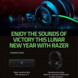 [CHALLENGER MINI] From now till 3 March, enjoy the promotions at any Challenger store on these Razer products!*Redemption details for the