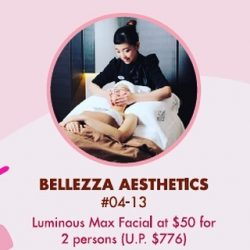 [Bellezza Aesthetics] Pamper your love ones with our beauty treats. From now till 19th February. Call us at 6223 2533 to book