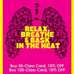 [BIKRAM YOGA] Becoming healthy is the best decision you'll every make. Healthy body, happy life!February Promo! 10% off 50 and