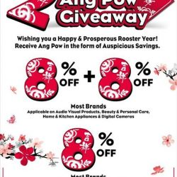 """[Harvey Norman] Have a happy and prosperous Lunar New Year with Harvey Norman, for we are giving you """"Ang Pows"""" in the"""