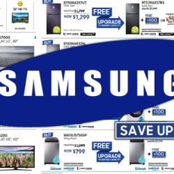 [Best Denki] Check out the irresistible deals at the Samsung Fiesta today at MBS, L5 Foyer! Click to find out the attractive