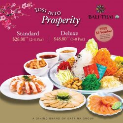 [Bali Thai] 2 more days left to Lo Hei! Hurry, place your order today at www.balithaidelivery.com.sg. Plus, free delivery