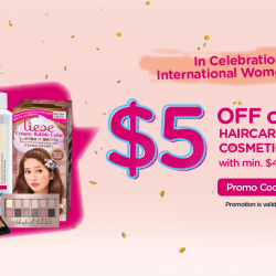 [Watsons Singapore] ONLINE EXCLUSIVE Celebrate International Women's Day with Payday Frenzy!