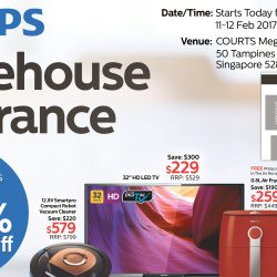Philips: Warehouse Clearance Sale Up to 80% OFF TVs and Home Appliances