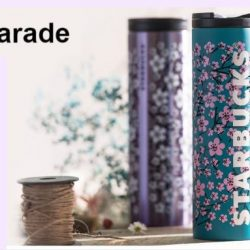 Starbucks: NEW Petal Parade Collection