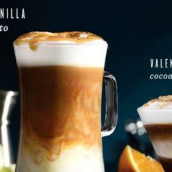 Starbucks: NEW Tahitian Vanilla Macchiato and Valencia Orange Cocoa Cappuccino