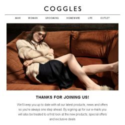 [Coggles] Welcome Back