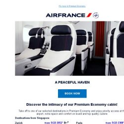 [AIRFRANCE] Premium Economy deals are here!