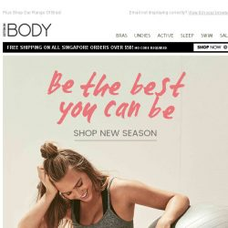 [Cotton On] 2 FOR $45 Active Crops & Bras! Be The Best You Can Be.