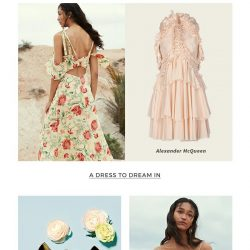[Yoox] Romantic style, from dresses to accessories
