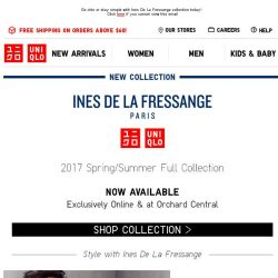 [UNIQLO Singapore] Casual yet formal. Jackets at $20 OFF