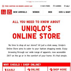 [UNIQLO Singapore] Have you shopped yet? Here's how you can get started..