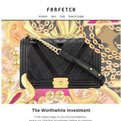 [Farfetch] The perfect Vintage accessory | Chanel, Yves Saint Laurent & more
