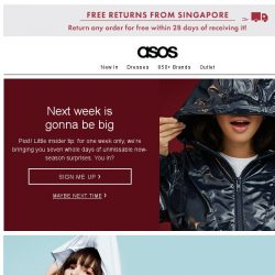 [ASOS] You miss this, you miss out