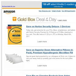 [Amazon] Save on Norton Security Deluxe- 5 Devices