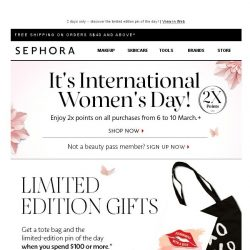 [Sephora] BQ, tried and tested beauty rated by you