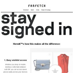 [Farfetch] Here's how to have the best Farfetch shopping experience...