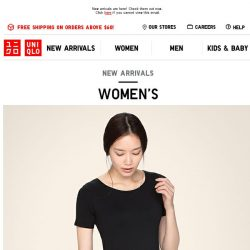 [UNIQLO Singapore] Last chance for these Online Exclusives! Ends 9 Mar.