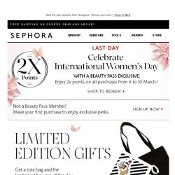 [Sephora] What just hit our shelves...