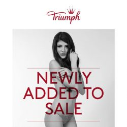 [Triumph] ✌New Items Added To Sale!