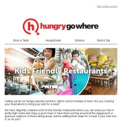 [HungryGoWhere] Bring your little ones to these Kids Friendly Restaurants this March School Holidays!