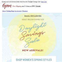 [6pm] This Sale is Everything!