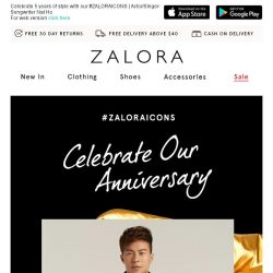 [Zalora] 🎂 Happy Birthday to US!