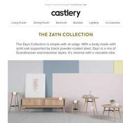 [Castlery] Make your home beautiful with Zayn
