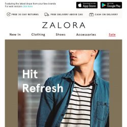 [Zalora] Need a little help with Spring Cleaning?