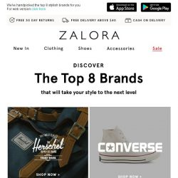 [Zalora] The search for your favourite brands ends here!