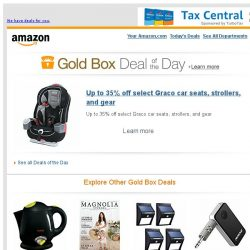 [Amazon] Up to 35% off select Graco car seats, strollers...