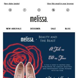 [Mdreams] Are you ready? See the awaited Melissa + Beauty and the Beast Collection
