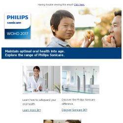 [PHILIPS] A healthy mouth for a healthy body.