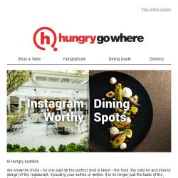 [HungryGoWhere] Check out these 13 Instagram-worthy Dining Spots in Singapore