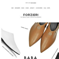 [Forzieri] Runway Hit for the It Girl: The Babouche