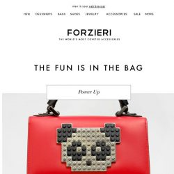 [Forzieri] Iconic Bags | More Than One Is Just More Fun