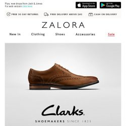 [Zalora] Clarks: Kicks that capture the essence of a gentleman
