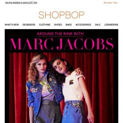 [Shopbop] Marc Jacobs's spring collection is here!