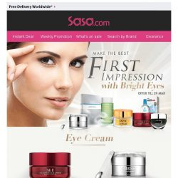 [SaSa ] 【Get Sparkling Bright Eyes】Selected Eye Care Save up to 90% OFF, SHOP NOW!