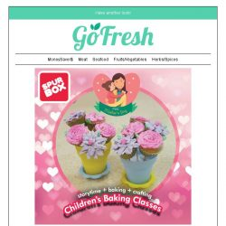 [GoFresh] Celebrate Mother's Day with your kids at Spurbox. Enjoy 20% just for GoFresh Customers.