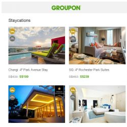[Groupon] HONEY, Where Are We Going This Weekend! ❤