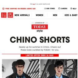 [UNIQLO Singapore] Summer must-haves, Now under $30