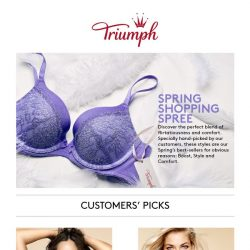 [Triumph] 🌼Spring Shopping Spree: 25% OFF