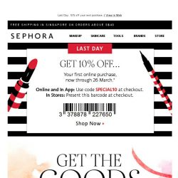 [Sephora] BQ you deserve those goodies