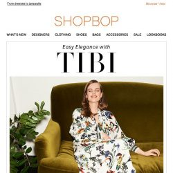 [Shopbop] Tibi's latest is so dreamy