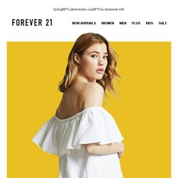 [FOREVER 21] Omggg is that new?