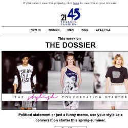 [Triumph] The Dossier: Spring blooms and stylish conversation starters
