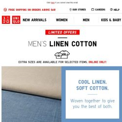 [UNIQLO Singapore] Start your Friday with a blast!